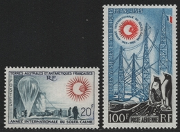 TAAF 1963 - Mi-Nr. 29-30 ** - MNH - Jahr Der Ruhigen Sonne (II) - Terres Australes Et Antarctiques Françaises (TAAF)