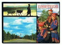 ENONTEKIO:  KUKKO  -  LAPPALAISIA  -  NACH  DEUTSCHALAND  -  GROSSFORMAT - Finlandia