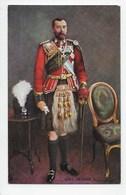 King George V  - Tuck Oilette 9821 - Royal Families