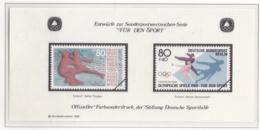 Germany Deutsche Sportshilfe Entwürfe Olympic Games 1988 Für Die Sport (M31) - Sommer 1988: Seoul