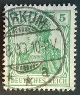 1902 Allemagne > Deutsches Reich Yt:DR 68 - Mi:DR 70 - Oblitération BORKUM - Oblitérés