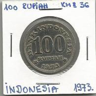 A12 Indonesia 100 Rupiah 1973. KM#36 - Indonésie