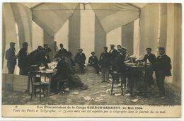 SPORT AUTOMOBILE - COURSE - LA COUPE GORDON BENNETT 1904 - LES ELIMINATOIRES - TENTE DES POSTES ET TELEGRAPHES - Sport Automobile