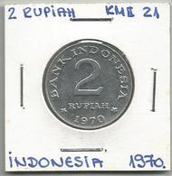 A12 Indonesia 2 Rupiah 1970. KM#21 - Indonésie