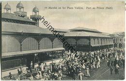 Haiti - Port Au Prince - Marche En Fer Place Valiere - Verlag Pharmacie Central D'Haiti - Altri