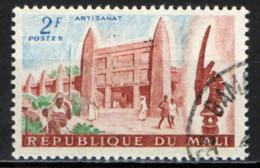 MALI - 1961 - PALAZZO DELL'ARTIGIANATO - USATO - Mali (1959-...)