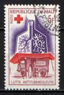 MALI - 1965 - LOTTA CONTRO LA TUBERCOLOSI - USATO - Mali (1959-...)