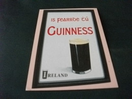 BIRRA BIER GUINNESS BICCHIERE IRELAND - Advertising