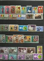 Lot No 2 De 34 Timbres De Guinée Années Diverses. - Timbres