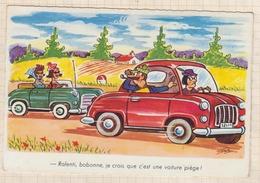 8AK3864 Illustrateur BOZZ Ralenti Bobonne Je Crois Que C'est Une Voiture Piegée 2  SCANS - Autres Illustrateurs