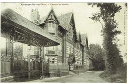 CPA - 76 - VARENGEVILLE SUR MER - Chemin Du Hamlet - Villa - Manoir - Architecture Normande - Varengeville Sur Mer