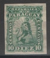 Paraguay - YT 11 (*) Non Dentelé - Paraguay
