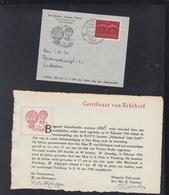 Niederlande Ballonpost 1946 - Luftpost