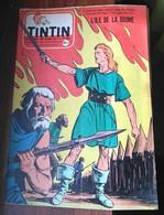 TINTIN N°422 Du 22 Novembre 1956 - Bon état. (rares Pub Pour JEP Et Meccano) - Tintin