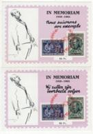 Documents Avec COB N° PR137/38. Les Deux Feuillets. - Belgique