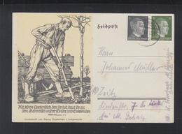 Dt. Reich Bild-PK 1944 Linoschnitt - Deutschland