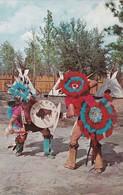 Indian War Dance , Six Gun Territory Amusement Park , SILVER SPRINGS , Florida , 1968 - Native Americans