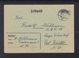 Dt. Reich Österreich Feldpostbrief 1942 An Lager Dürndorf Zwettl Mit Inhalt - Briefe U. Dokumente