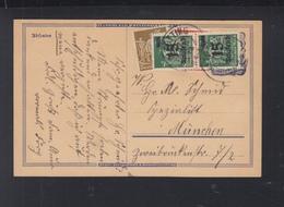 Dt. Reich PK Altötting Nach München - Briefe U. Dokumente