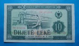 ALBANIA 10 LEKE 1976 Serial # FK 871556 - Albanie