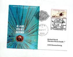 Carte Poste Par Diligence - Vienna – International Centre