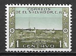 SALVADOR    -     BATEAU  /  PECHE  /  MARINE     -    Neuf ** - Salvador