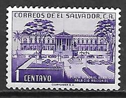 SALVADOR    -     Place Du Général Barrios  /  Palais National     -    Neuf ** - Salvador