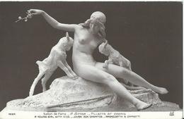 CPA  __ Salon Paris ----A . Bitter - Fillette Et Cabris - Sculptures