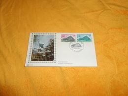 ENVELOPPE FDC DE 1978. / CONSEIL DE L'EUROPE 67 STRASBOURG. CACHET + TIMBRES.. - 1970-1979