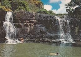 Waterfall At Talofofo , Guam , 1975 - Guam