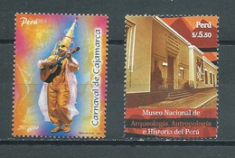 PEROU  Yvert  N° 1578 Et 1836  Oblitérés - Pérou