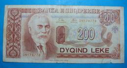 ALBANIA 200 LEKE 1994 Serial # DN 178778 - Albanie