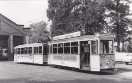 AM21 Photograph - Darmstadt Tram At Bollenfalltor Depot - Trains