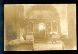 Improvised Hospital Inside Church / Not Circulated, 2 Scans - Unclassified