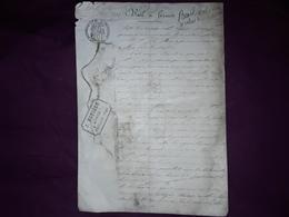 Bail à  Ferme  ,canton HYERES Var , 1905 , 5 Pages - Collections