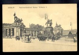 GERMANY - Berlin Nationaldenkmal Kaiser Wilhelm I / Not Circulated, 2 Scans - Deutschland
