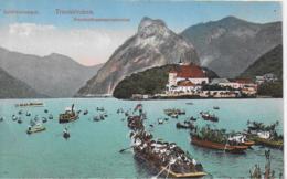 AK 0084  Traunkirchen - Fronleichnamsprozession / Verlag Brandt Um 1915 - Traun