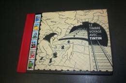France,Livre TINTIN (27,5x20) 86 Pages La Série De Timbres  Vue Sur La Couverture (5 Scan Représentés) Sous Faciale - Postdokumente