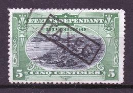 BELGISCH CONGO: COB TX 1 GESTEMPELD. - Belgisch-Kongo
