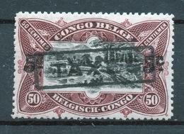 BELGISCH CONGO: COB TX 50 GESTEMPELD. - Belgisch-Kongo