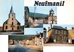 NEUFMANIL - Vues Multiples - Eglise - Mairie - France
