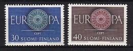 Europa CEPT - Finland - MH - M 525-526 - 1960