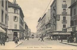 Pays Div -ref N679- Suisse - Geneve - Rue De Carouge  - Carte Bon Etat - - Switzerland