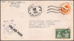 3269/ USA Entier Stationery Enveloppe (cover) 1945 - Ganzsachen