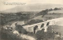 """CPA FRANCE 74 """"Env. D'Annemasse, Le Pont D'Arthaz"""" - Autres Communes"""