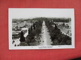 Mexico  RPPC  Reforma Avenue    Ref. 3080 - Mexique