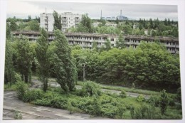 UKRAINE Pripyat City Near Chernobyl Nuclear Power Plant. Panorama Of The Abandoned Buildings. - Ukraine