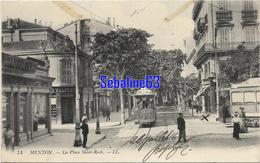 Menton - La Place Saint-Roch - 1916 - Menton