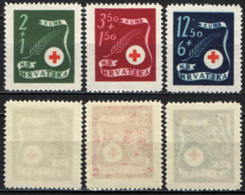 CROAZIA - 1943 - PRO CROCE ROSSA - MNH - Croazia