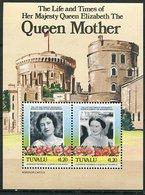 Tuvalu ** Bloc 10 - 85 Ann De La Reine-mere Elizabeth - Tuvalu
